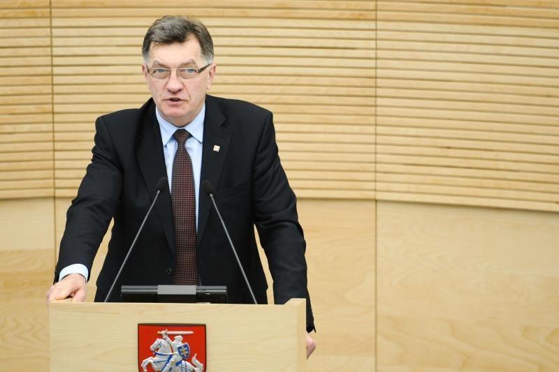 Premjeras: dėl N. Venckienės sprendimą turi priimti ne politikai