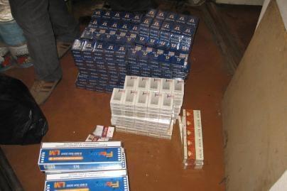 Iš sandėlio pavogtos policijos konfiskuotos prekės