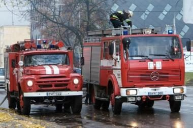 Kalėdas vilniečiai pasitiko be gaisrų namuose