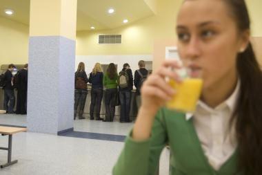 Nuo rugsėjo Vilniaus mokiniai valgys tik sveiką maistą