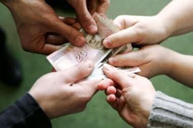 Šiaulių biudžetininkai prieš Kalėdas gali negauti algų