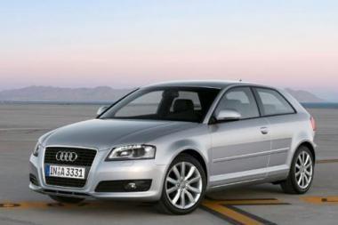 "Pristabdys ""Audi A3"" gamybą"