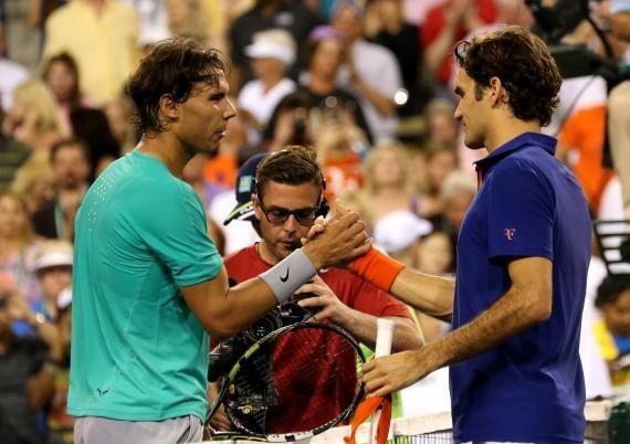 Favoritų dvikovoje - įspūdinga R. Nadalio pergalė
