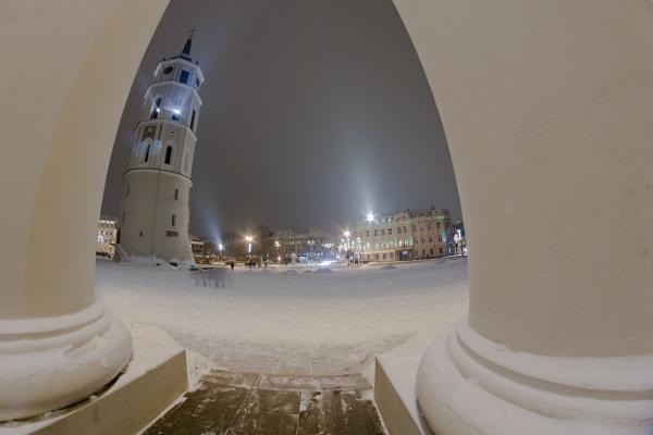 Vilniuje prasideda Šventaragio gatvės rekonstrukcijos darbai