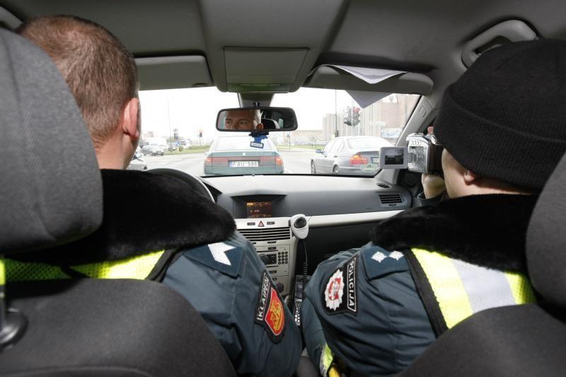 Uostamiesčio kelių policininkai nepakantūs kyšininkams