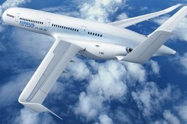 """""""Airbus"""": žvilgsnis į ateities skrydžių pasaulį"""