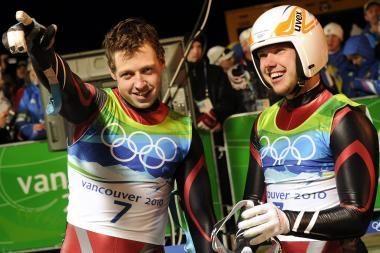 Rogutininkai pelnė pirmąjį medalį Latvijai