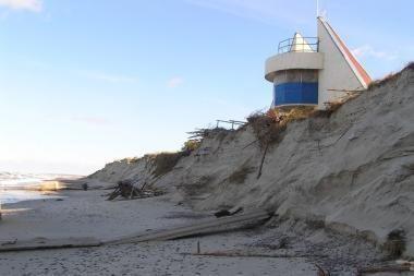 Neringos ir Palangos paplūdimiuose poilsiautojų laukia kliūtys