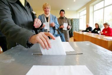Lietuvoje prasideda išankstinis balsavimas