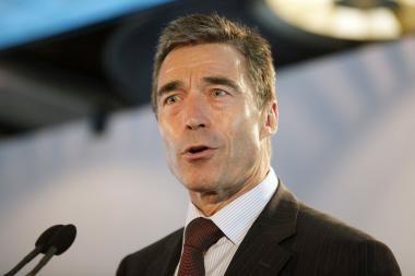 A.Rasmussenas: NATO reikia branduolinio ginklo