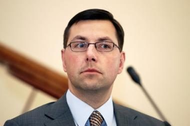 V.Mazuronis prašo G.Steponavičiaus pasiaiškinimo dėl paramos M.Adomėno institutui