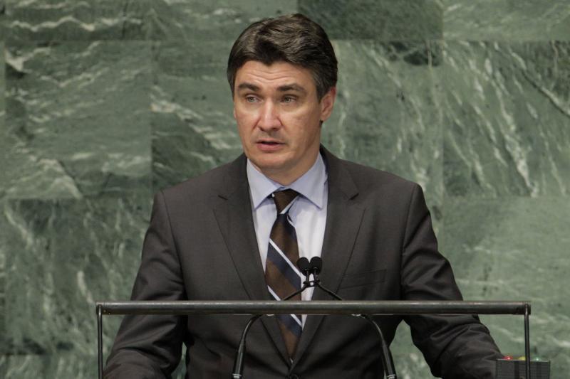 Mirė Kroatijos parlamento pirmininkas Borisas Špremas