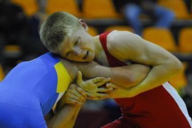 Sėkmingi jaunųjų Lietuvos imtynininkų startai Latvijoje