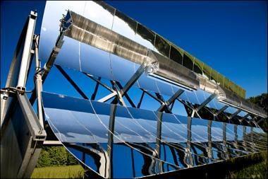 """""""Google"""" kūrinys – koncepcinis veidrodis saulės jėgainėms"""