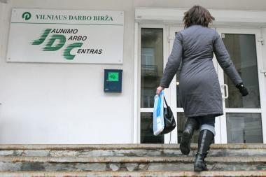 Darbo birža: Lietuvoje darbo ieško 281,9 tūkst. žmonių