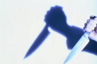Baldų salone - ginkluotas apiplėšimas