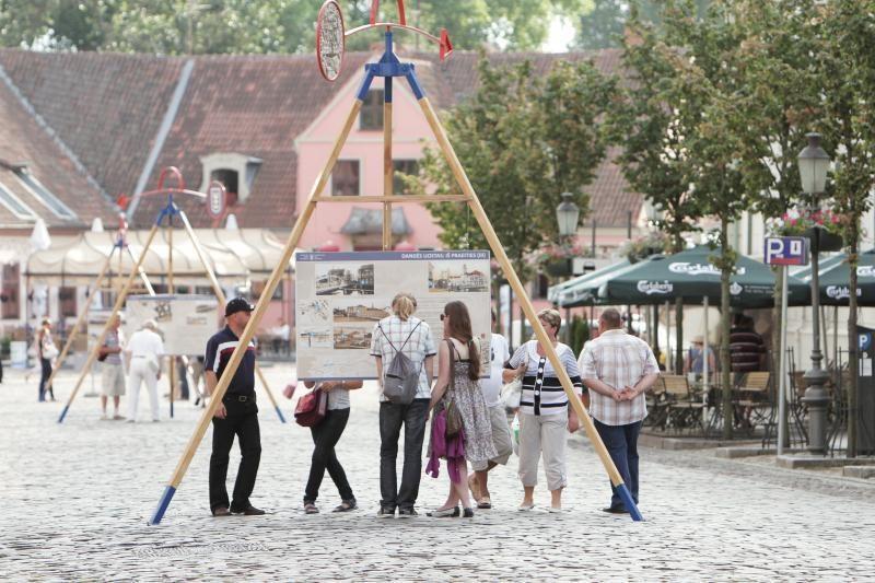 Klaipėdos senamiestis šeštadienį kvepės žuviene