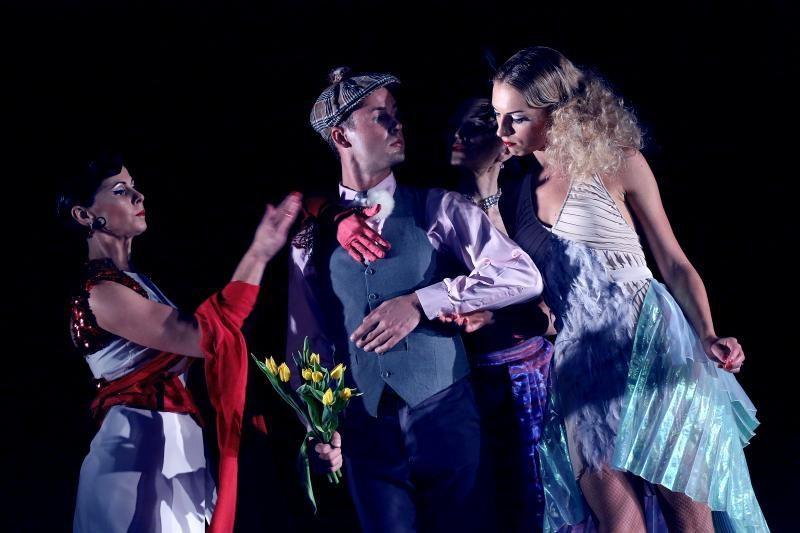 """""""Naujasis arabeskas"""": festivalyje Klaipėdoje karaliaus šokis"""