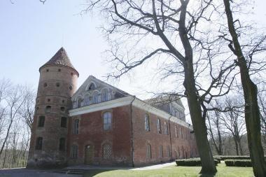 Raudondvario dvaro sodyboje - ledainės rekonstrukcija