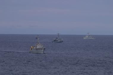 Baltijos jūroje intensyviai ieškoma minų
