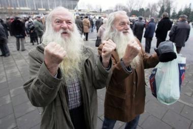Pensijos amžių siūloma ilginti iki 65 metų