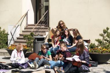 Vasaros sezoną Klaipėdoje atidarys Gatvės muzikos diena