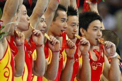 Kinijos gimnastai geriausi