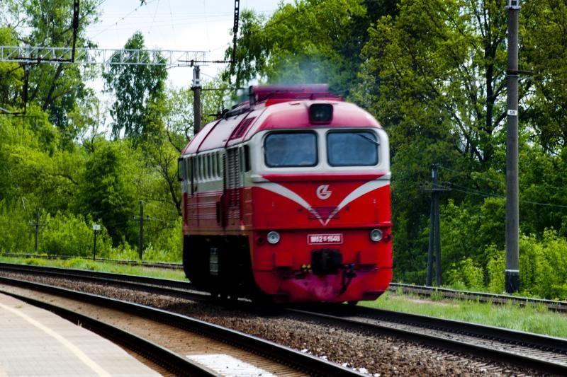 Vilkaviškio rajone traukinys pervažiavo konduktoriaus kojas