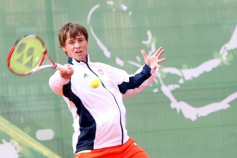 """R.Berankis pateko į """"Challenger Tour"""" turnyro ketvirtfinalį"""