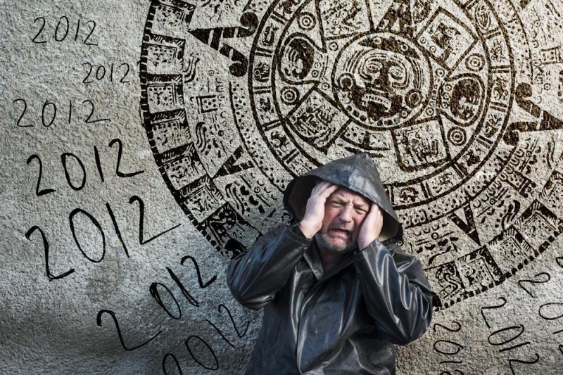 """Gvatemaloje majų šventykla nukentėjo dėl """"apokalipsės turistų"""""""