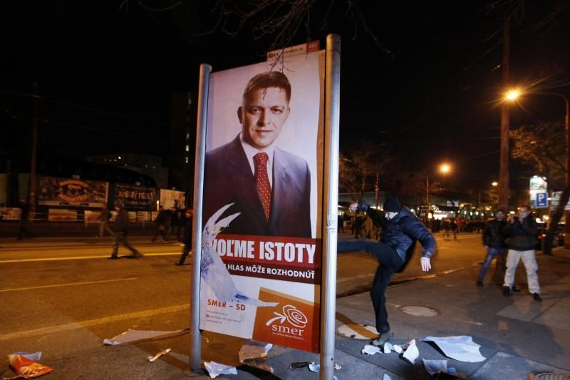 Slovakijoje šeštadienį vyksta parlamento rinkimai