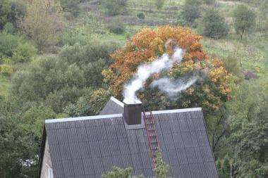 Spalį mokys saugiai šildytis namus