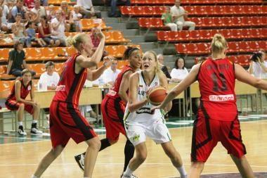Lietuvos krepšininkės užsitikrino vietą Europos čempionato finalo turnyre