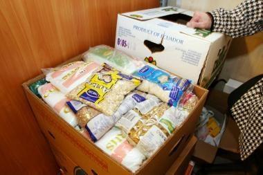 Lietuvos Caritas liepą maisto paketus išdalins beveik 350 tūkst. nepasiturinčių asmenų