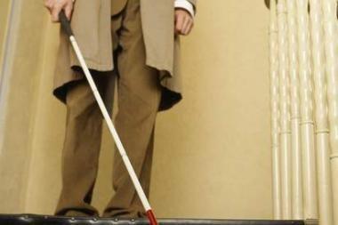 Klaipėdiečiams – aklųjų pasiūlytas eksperimentas