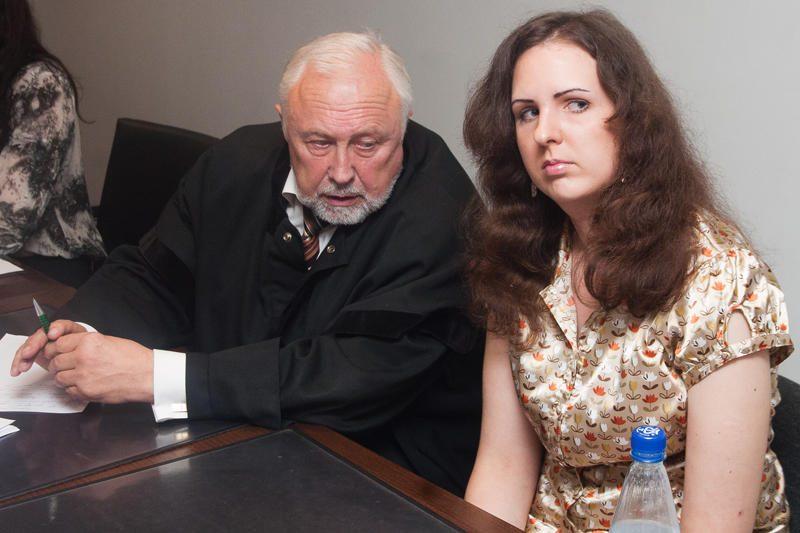 E.Kusaitė siekia būti išteisinta dėl prokuroro J.Lauciaus įžeidimo