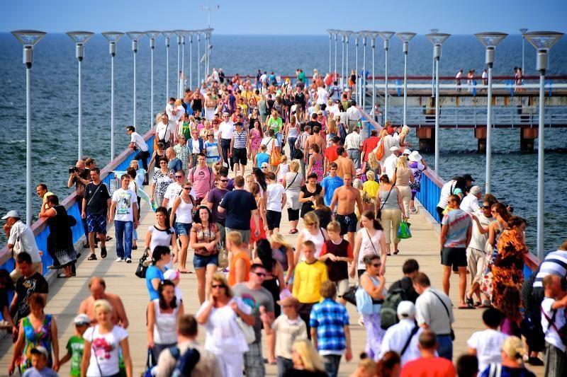 Baltijos jūra   gali užtvindyti  Palangą