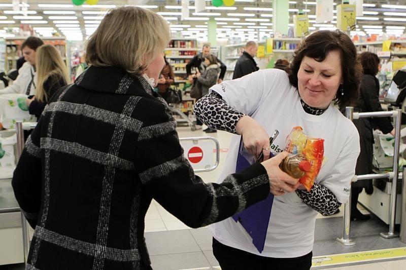 """""""Maisto banko"""" akcija vyks 62 miestuose"""