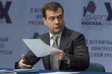 Rusijos prezidentas žada žiniasklaidos laisvę