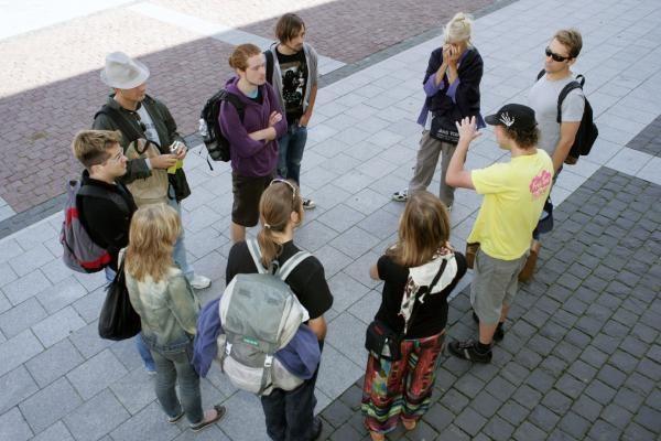 Nelegalių gidų Vilniuje nerasta