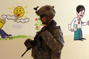 Irake dėl teroro išpuolių paskelbta aukščiausio lygio parengtis