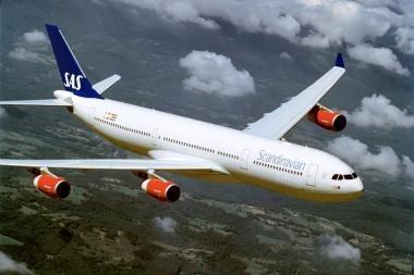 SAS tarp Skandinavijos šalių skraidys dažniau