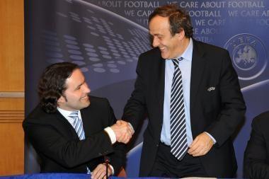 """LFF oficialiai priimta į UEFA Teisėjų konvenciją bei """"Grassroots"""" chartiją"""