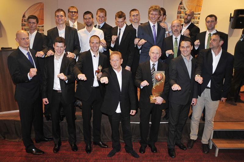 Ant žalgiriečių rankų – spindintys LKL čempionų žiedai