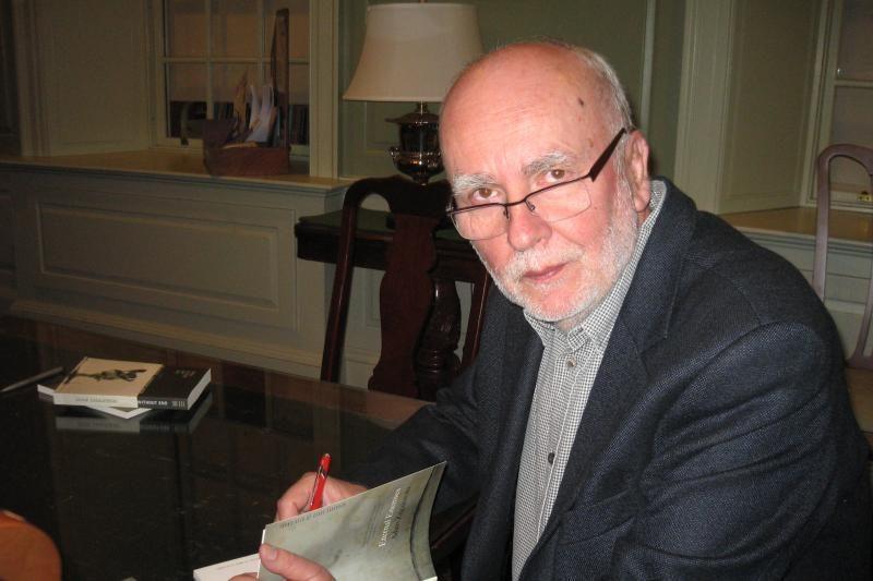 Nidoje viešės Nobelio literatūros premijos nominantas