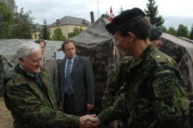 """Prezidentas stebėjo """"Baltijos dvasia 2008"""