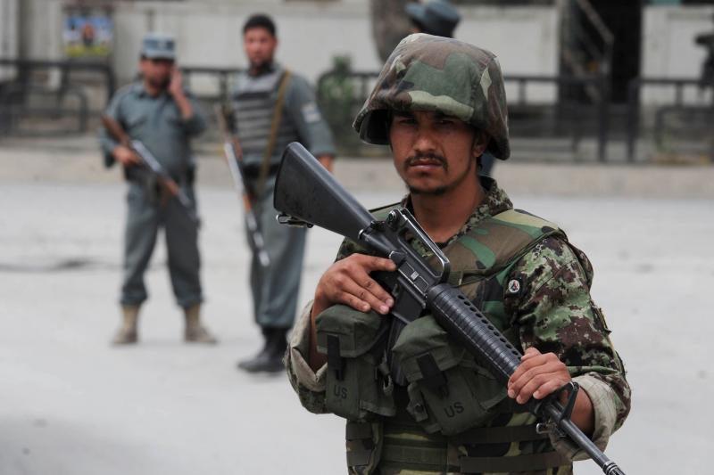 Sprogimas Afganistane prie NATO būstinės nusinešė šešias gyvybes