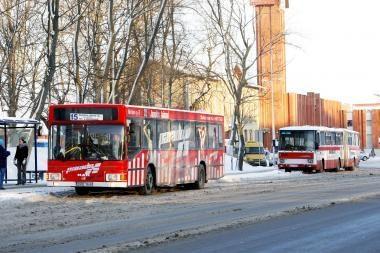 Klaipėdoje keičiasi keleivinių autobusų maršrutai (schema, papildyta)