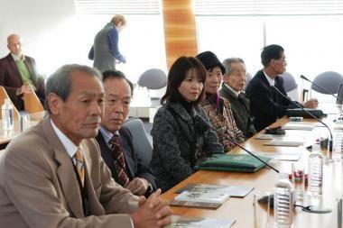Savivaldybėje viešėjo diplomato Sugiharos keliais keliaujanti japonų delegacija
