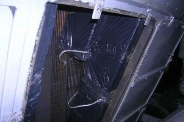 Šilumvežio ventiliacijoje - cigarečių kontrabanda